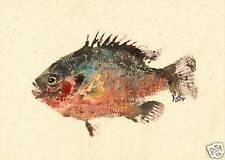 Gyotaku Fish Rubbing - Stumpknocker