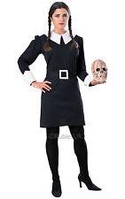 Creepy School Girl Addams Family Wednesday Adult One Size Costume Halloween AC14