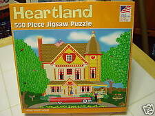 "550PC HEARTLAND PUZZLE""HOME SWEET HOME"" BY MARK FROST"