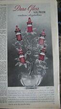 1943 Red Dura Gloss Nail Polish Contains Chrystalline Beauty Ad