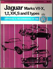Jaguar Mk VII-X, 1, 2, XK, S & E Type Pearson's Illustrated Servicing Guide 1969