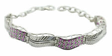 Multi 925 Sterling Silver Natural comely Multi simply Bracelet AU gift