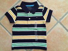 Gestreifte Tommy Hilfiger Baby-T-Shirts & -Polos für Jungen