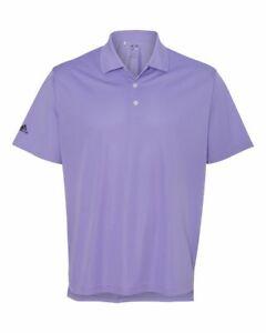 Adidas A130 Basic Sport UPF 25 Protection Golf Polo Shirt