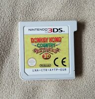 Nintendo 3DS game - Donkey Kong Country Returns 3D - GAME CARD ONLY