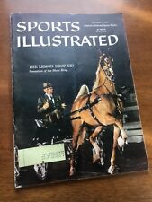 Sports Illustrated, November 11, 1957, High School Football, Horse Racing, Golf