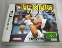 Tennis Masters Nintendo DS 2DS 3DS Game *Complete*