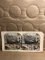 Vintage 1925 A.C. Co Luna Park Coney Island New York  Stereoview Photo Card