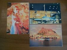 3 STINGRAY POSTCARDS ISSUED 1993