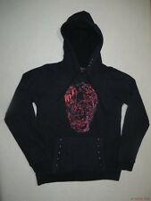 New Vans Womens Viney Skull Pullover Hoodie Sweatshirt Top Medium