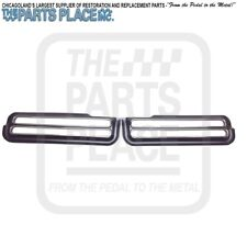 1969 Pontiac GTO Judge Tail Lamp Light Bezels Pair