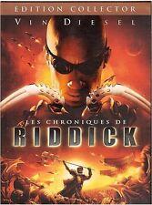 DVD LES CHRONIQUES DE RIDDICK édition collector vin diesel