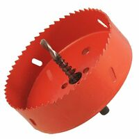 """0.63"""" Drill Bit 120mm Long Red Metal Hole Saw Set for Drilling Wood CT W0Q1 N5X0"""