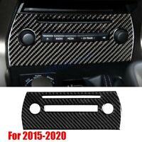 Carbon Fiber Central CD Panel Trim Cover For Lexus NX200t NX300h 300 2015-2021