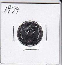 1979 Canada Nickel 5 Cent coin From Double Dollar Set