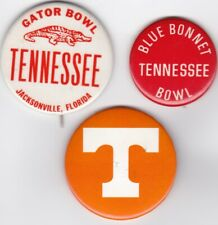 Tennessee Volunteers Football Pin Pinback Button Badge Lot (3)