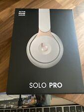 BEATS Solo Pro Wireless Bluetooth Noise-Cancelling Headphones - Beige