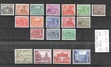 BERLIN - 1949  Buildings , MI # 42-60 , Scott# 9N42-60 - MNH Set , Signed **