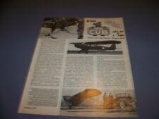 VINTAGE..PIPER J-3C & L-4BH CUB..DETAILS/4-VIEWS/SPECS/STRUCTURE..RARE! (772P)