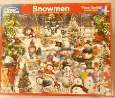 White Mountain 1000 Pc Puzzle Snowmen 564