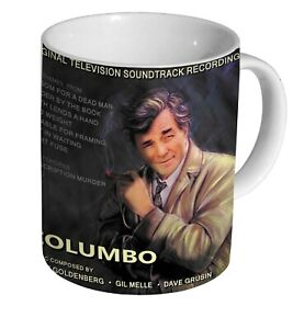 Columbo Peter Falk Soundtrack Album Cover MUG