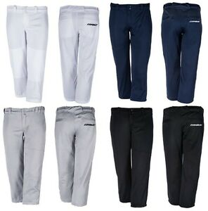 New! Combat Womens and Girls Lowrise Belted FastPitch Softball Pants in 4 Colors