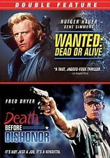 Wanted Dead or Alive Death Before Dis 0014381749021 DVD Region 1
