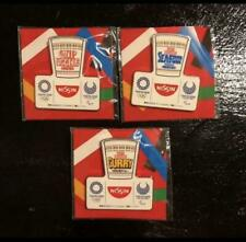 Tokyo Olympic 2020 Nissin Cup Noodle limited Pin Badge Pins novelty