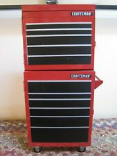 SEARS Craftsman Miniature Red Tool Box / Tool Chest ~1999 Millennium Edition