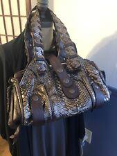 Chloe Snakeskin Silverado Handbag