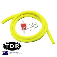 1 Meter High Quality Motorcycle Petrol Hose Fuel Line ATV Quad Dirt Bike YELLOW