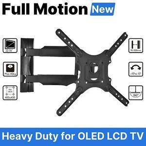 """Rotatable LED TV Wall Mount Bracket Home Holder Rack Hanger FOR 32"""" 42"""" 50"""" 55"""""""