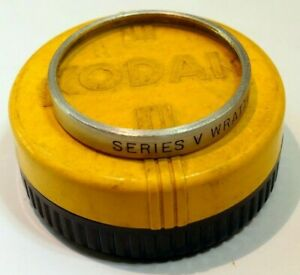 Kodak series V 5 K2 Yellow Wratten Lens Filter drop in type