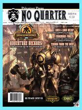 NO QUARTER MAGAZINE ISSUE 44 Privateer Press NEW Warmachine Hordes Sept. 2012
