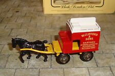 LLEDO - DAYS GONE - HORSE DRAWN MILK FLOAT WITH FIGURES - W CLIFFORD & SONS -