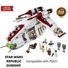Star Wars 05041 Building Blocks Sets Republic Gunship Model Compatible 75021 Toy