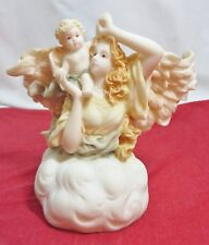 "Roman Seraphim Angel Music Box Classic 1996 Heaven Sent Collection ""Hope Eternal"