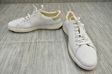 **Cole Haan GrandPro Tennis C22584 Leather Sneakers, Men's Size 9.5M, White