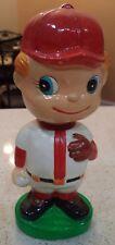 Baseball Boy Pitcher Mascot Bobblehead Bank