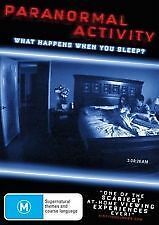 PARANORMAL ACTIVITY - BRAND NEW & SEALED DVD (REGION 4)