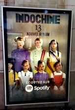 INDOCHINE 13 affiche officielle 120x170 cm campagne d'affichage promo