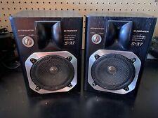 Rare Vintage Pioneer S-X7 Surround/Shelf Speakers /45 Watts/ Made in Japan