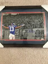 Rare Odell Beckham Jr 16x20 Signed JSA Photo