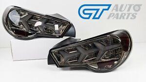 Smoke Lambo Style Dynamic LED Taillights for Toyota 86 Subaru BRZ tail lights
