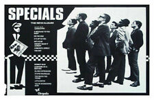 THE SPECIALS REPLICA 1979 RECORD RELEASE POSTER