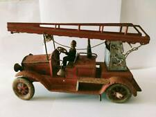 Tin Toy Tippco Tipp Co Fire Engine Truck Germany
