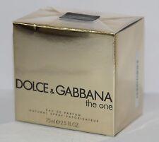 Dolce & Gabbana The ONE 75ml EDP Spray Women Brand New- Sealed 100%Original-NIB