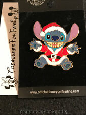 Disney Pin Lilo and Stitch Stitch Dressed as Santa Claus 2002 NEW FREE SHIP