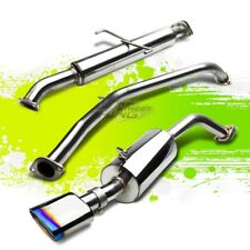 "FOR 08-15 SCION XB T2B 5.5"" OVAL BURNT TIP STAINLESS STEEL CATBACK EXHAUST KIT"