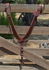 Reinsman Heavy Duty Rosewood Harness Leather Pulling Collar